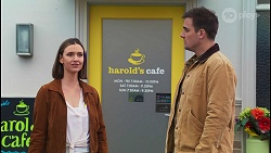 Amy Williams, Kyle Canning in Neighbours Episode 8209