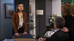 Amy Williams, Paul Robinson, Terese Willis in Neighbours Episode 8209