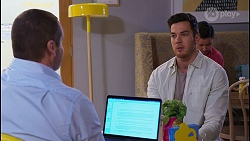 Toadie Rebecchi, Shaun Watkins in Neighbours Episode 8209