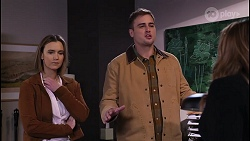 Amy Williams, Kyle Canning, Terese Willis in Neighbours Episode 8209