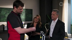 Donovan Ridley, Terese Willis, Paul Robinson in Neighbours Episode 8210