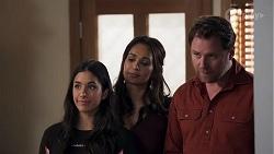 Yashvi Rebecchi, Dipi Rebecchi, Shane Rebecchi in Neighbours Episode 8210