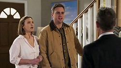 Amy Williams, Kyle Canning, Paul Robinson in Neighbours Episode 8210