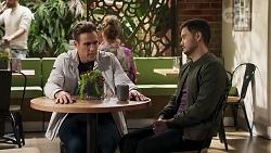 Aaron Brennan, David Tanaka in Neighbours Episode 8211