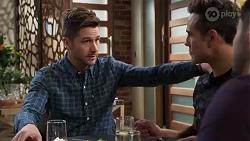 Mark Brennan, Aaron Brennan in Neighbours Episode 8211