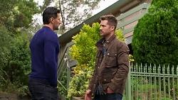 Pierce Greyson, Mark Brennan in Neighbours Episode 8211
