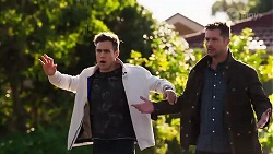 Aaron Brennan, Mark Brennan in Neighbours Episode 8212