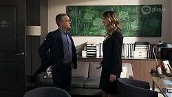 Paul Robinson, Scarlett Brady in Neighbours Episode 8212