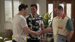 Finn Kelly, Shaun Watkins, Toadie Rebecchi in Neighbours Episode 8212