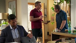 Pierce Greyson, Gary Canning, Toadie Rebecchi in Neighbours Episode 8213