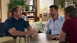 Toadie Rebecchi, Gary Canning, Pierce Greyson in Neighbours Episode 8213