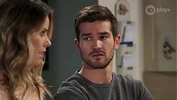Scarlett Brady, Ned Willis in Neighbours Episode 8213