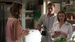 Scarlett Brady, Kyle Canning, Amy Williams in Neighbours Episode 8214