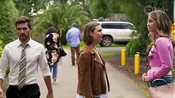 Ned Willis, Amy Williams, Scarlett Brady in Neighbours Episode 8214