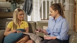 Roxy Willis, Harlow Robinson in Neighbours Episode 8215