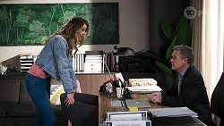 Scarlett Brady, Paul Robinson in Neighbours Episode 8216