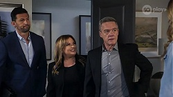 Pierce Greyson, Terese Willis, Paul Robinson in Neighbours Episode 8217