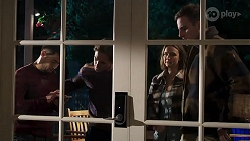 David Tanaka, Aaron Brennan, Amy Williams, Kyle Canning in Neighbours Episode 8217