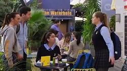 Bea Nilsson, Finn Kelly, Yashvi Rebecchi, Harlow Robinson in Neighbours Episode 8218