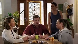 Amy Williams, Gary Canning, Elly Conway, Bea Nilsson in Neighbours Episode 8218