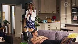 Scarlett Brady, Ned Willis in Neighbours Episode 8218