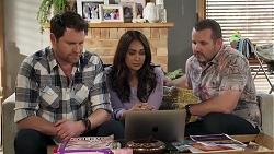 Shane Rebecchi, Dipi Rebecchi, Toadie Rebecchi in Neighbours Episode 8219