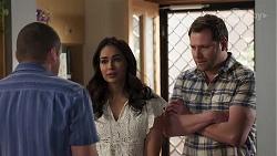 Toadie Rebecchi, Dipi Rebecchi, Shane Rebecchi in Neighbours Episode 8220