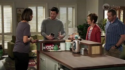 Elly Conway, Finn Kelly, Susan Kennedy, Toadie Rebecchi in Neighbours Episode 8221