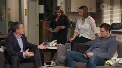 Paul Robinson, Terese Willis, Amy Williams, Kyle Canning in Neighbours Episode 8223