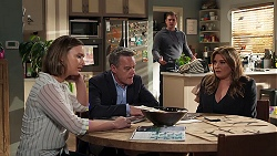 Amy Williams, Paul Robinson, Kyle Canning, Terese Willis in Neighbours Episode 8224