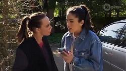 Bea Nilsson, Yashvi Rebecchi in Neighbours Episode 8224