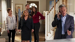 Susan Kennedy, Terese Willis, Shane Rebecchi, Dipi Rebecchi, Paul Robinson in Neighbours Episode 8224