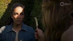Yashvi Rebecchi, Scarlett Brady in Neighbours Episode 8224
