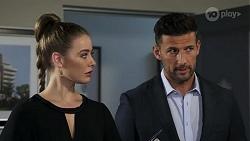 Chloe Brennan, Pierce Greyson in Neighbours Episode 8225