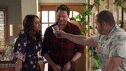 Dipi Rebecchi, Shane Rebecchi, Toadie Rebecchi in Neighbours Episode 8225