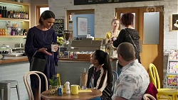 Elly Conway, Kirsha Rebecchi, Toadie Rebecchi in Neighbours Episode 8225