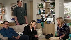 Kyle Canning, Gary Canning, Amy Williams, Sheila Canning in Neighbours Episode 8225