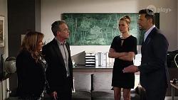 Terese Willis, Paul Robinson, Chloe Brennan, Pierce Greyson in Neighbours Episode 8226