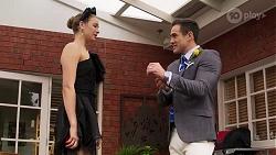 Chloe Brennan, Aaron Brennan in Neighbours Episode 8227