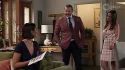Elly Conway, Toadie Rebecchi, Bea Nilsson in Neighbours Episode 8227