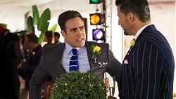 Aaron Brennan, Pierce Greyson in Neighbours Episode 8227