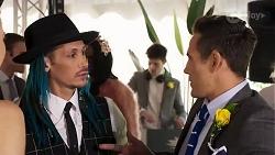 Cosentino, Aaron Brennan in Neighbours Episode 8227