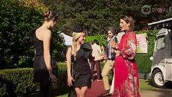 Chloe Brennan, Roxy Willis, Elly Conway in Neighbours Episode 8227