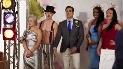 Roxy Willis, Hendrix Greyson, Aaron Brennan in Neighbours Episode 8227