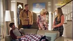 Ned Willis, Kyle Canning, Prue Wallace, Harlow Robinson in Neighbours Episode 8228