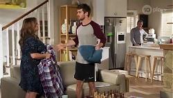 Terese Willis, Ned Willis, Paul Robinson in Neighbours Episode 8229