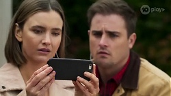 Amy Williams, Kyle Canning in Neighbours Episode 8229