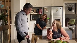 Paul Robinson, Terese Willis, Harlow Robinson in Neighbours Episode 8229