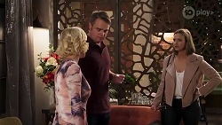 Prue Wallace, Gary Canning, Amy Williams in Neighbours Episode 8229