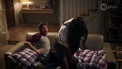 Ned Willis, Yashvi Rebecchi in Neighbours Episode 8229